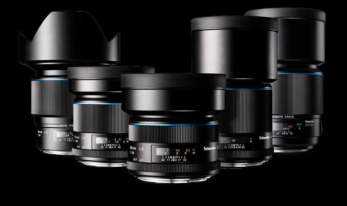 The new Schneider Kreuznach leaf shutter lenses