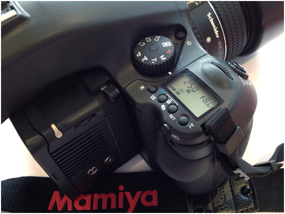 Mamiya Leaf custom functions